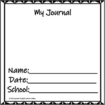 Journal with Holiday and Seasonal Writing Prompts for Elementary Students