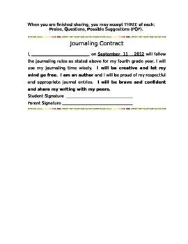 Journaling Procedures