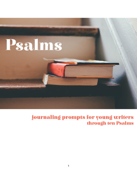 Bible Study Journal | The Psalms