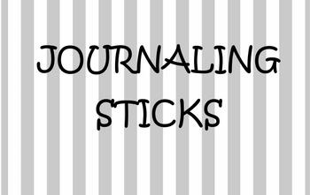 Journaling Sticks
