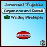 Journaling Topic Procedures and Strategies - Los sujetos del diario
