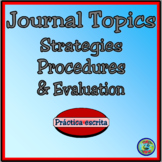 Journal Topics: Writing Procedures and Strategies - Los su