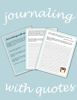 Journaling With Quotes