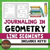 Journaling in Geometry: Line Segments