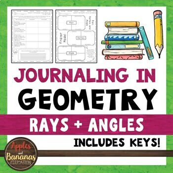 Journaling in Geometry: Rays and Angles