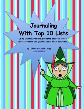 Journaling with Top 10 Lists