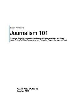Complete Journalism Program Notes, Quizzes, Activities for