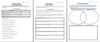 Journalism 15 Lesson Packet Elements of News Stories, Op Eds, Interviewing