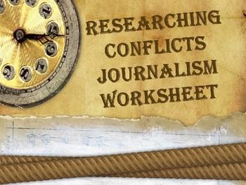 Journalism 5 Ws Printable - No PREP NEEDED