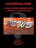 Journalism: Analyzing Newspaper Leads & Articles Activitie