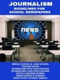 Journalism: Guidelines for School Newspapers