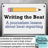 Journalism Beat Reporting