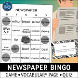 Newspaper Bingo Game
