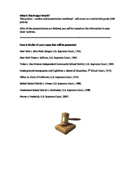 Journalism Court Cases Project