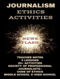 Journalism Ethics Activities Digitally Enhanced Distance Learning