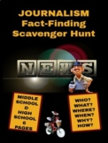 Journalism: Fact-Finding Scavenger Hunt Distance Learning