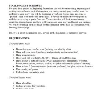 Journalism Final Project