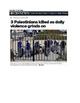 Journalism: Media Bias in Headlines (Uses Israel/Palestine examples)
