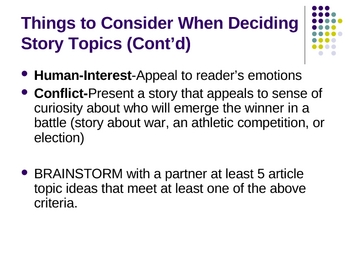 Journalism Newspaper Basics 70-slide Powerpoint!