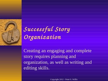 Journalism: Story Organization Powerpoint Notes for Newspaper and Yearbook