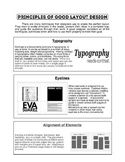 Journalism: Principles of Layout Design