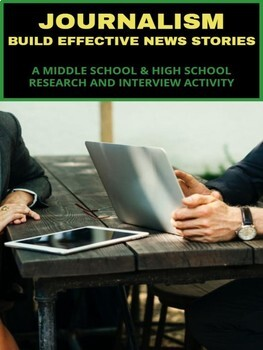 Journalism - Research and Interviewing Activity