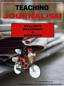 Journalism Syllabus - Beginning and Advanced Classes Distance Learning