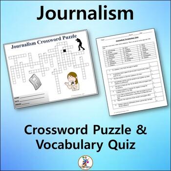 Journalism Crossword & Vocab Quiz