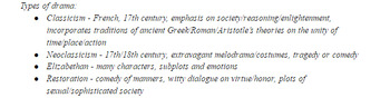Journalism and Drama Terms