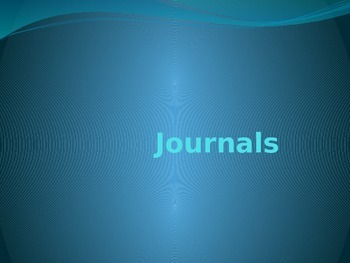 Journals 1-44