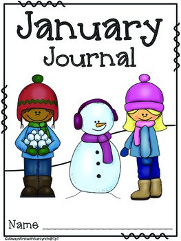 Journals: Monthly Covers & Lined Paper Portrait {Writing Journals} Color/B&W