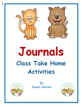 Journals: Take-Home Style