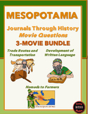Journals Through History: Mesopotamia (Movie Questions for