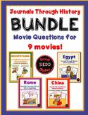 Journals Through History Movie ?s Bundle: Mesopotamia, Egy