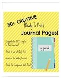 "Journals ""Write On"" Target!"