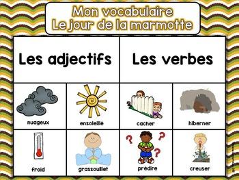 Journée de la marmotte - Groundhog day - French