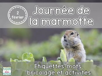 Journée de la marmotte - Groundhog day - French
