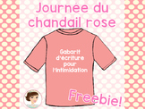Journée du chandail rose - Freebie