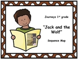 "Journeys 1st grade ""Jack and the Wolf"" Sequence Map"