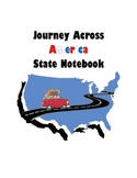 Journey Across America 50 States Notebook