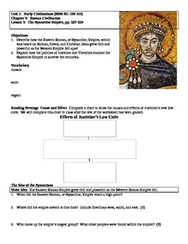 Journey Across Time Ch9 L3 The Byzantine Empire