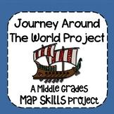 Journey Around The World Map Skills Project