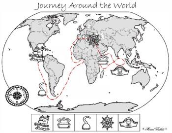 Journey Around the World Pirate Writing Project