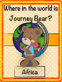 Geography: Journey Bear Visits Africa
