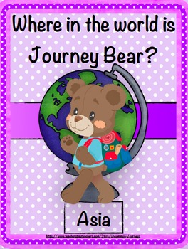 Geography: Journey Bear Visits Asia