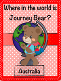 Geography: Journey Bear Visits Australia