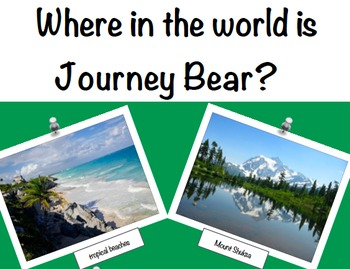 Geography: Journey Bear Visits North America