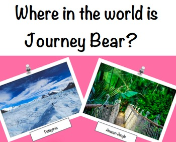 Geography: Journey Bear Visits South America