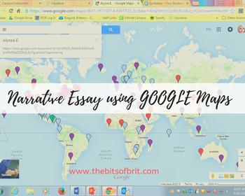 Journey Google Maps Narrative