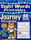Journey Into Learning: 88 Sight Words Printables/Activities